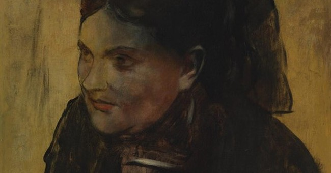 X-ray uncovers hidden portrait beneath famed Degas painting