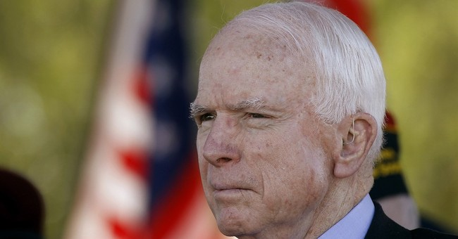 McCain sticks by Trump despite myriad reasons not to