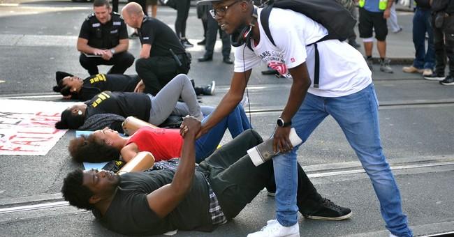 UK Black Lives Matter protesters block Heathrow airport road