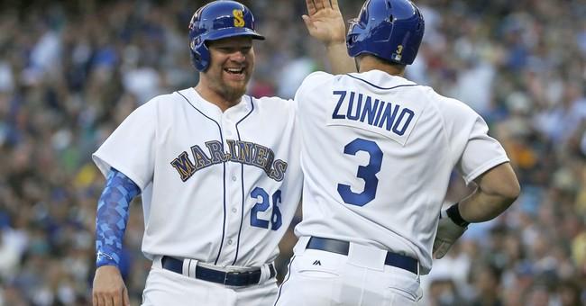Zunino's HR caps big 1st inning, Mariners beat Angels 6-4