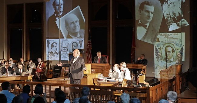 In 'Scopes monkey trial' home, an evolution debate rages on