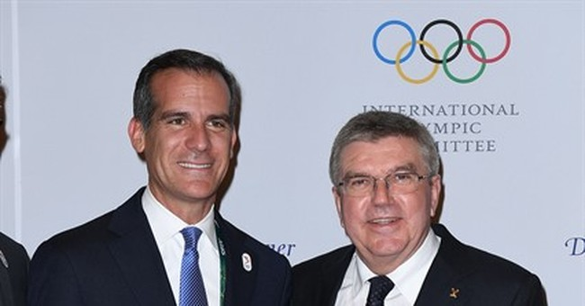 Los Angeles says it offers 'risk-free' bid for 2024 Olympics