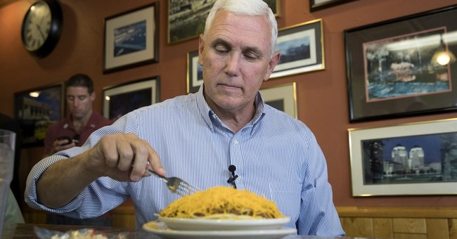 Pence stops by chili parlor as part of Indiana, Ohio tour