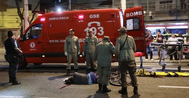 Man shot dead near Maracana after Olympic opening ceremony