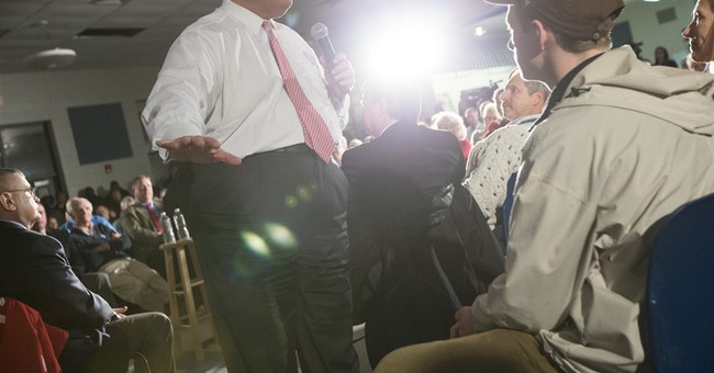 Christie leaves campaign trail as storm bears down at home