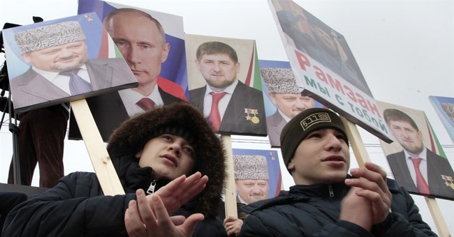 Thousands rally in support of Chechen leader Kadyrov