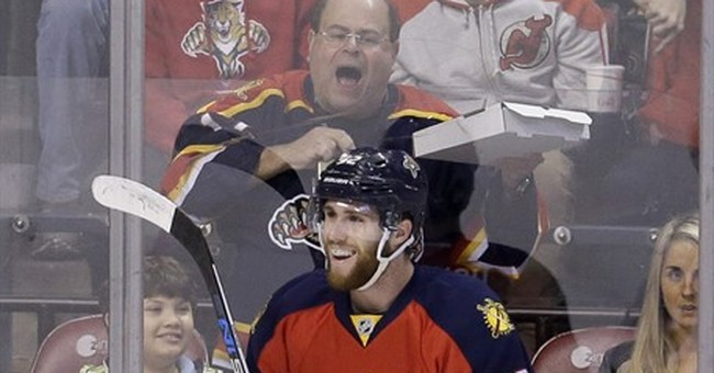 Luongo saves 27, Ekblad scores, Panthers top Blackhawks 4-0
