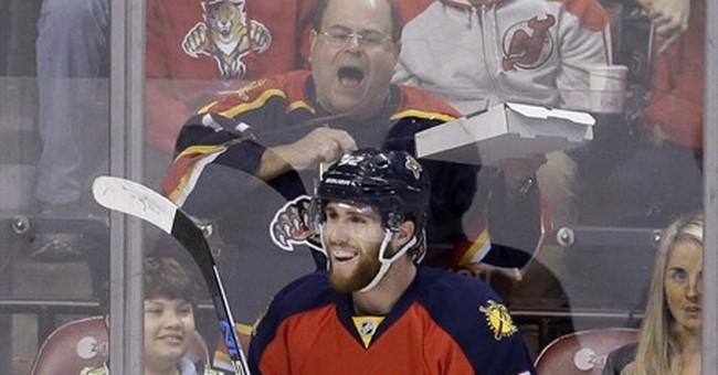Luongo saves 27, Ekblad scores, Panthers top Blackhawks 4-0