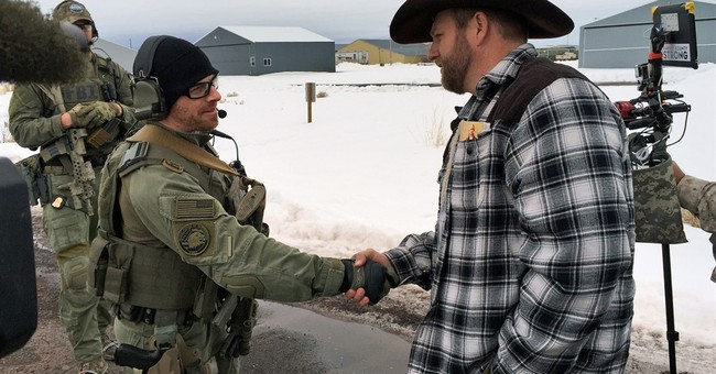 The Latest: Rancher renounces contract at Bundy event