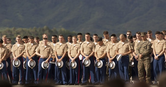 The Latest: President offers condolences over fallen Marines