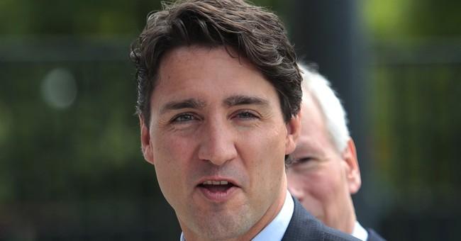 Shirtless Trudeau becomes summer internet fascination