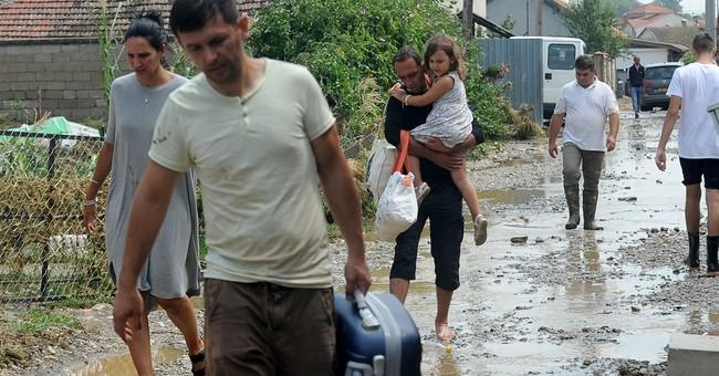 Macedonia declares emergency after flooding kills 21