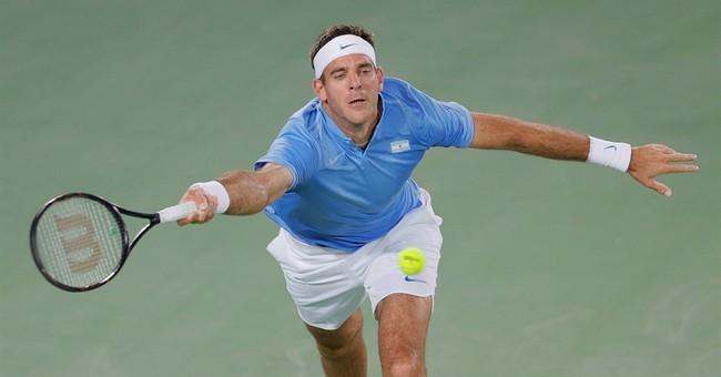 Resurgent del Potro tops No. 1 Djokovic in Olympic 1st round