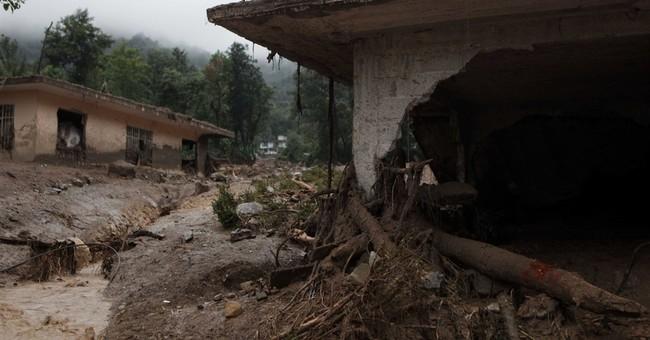 Javier nears tip of Mexico's Baja; 45 dead in earlier storm