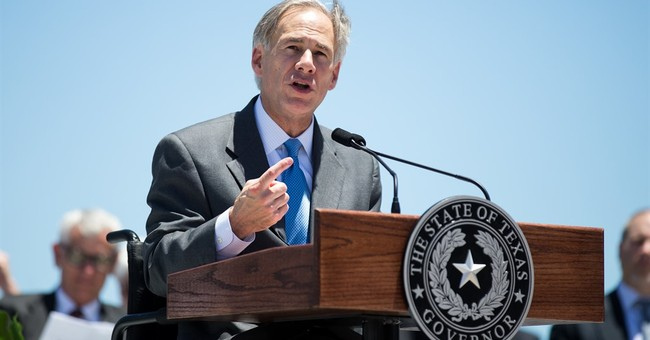 Texas governor makes first public event since hospital stay