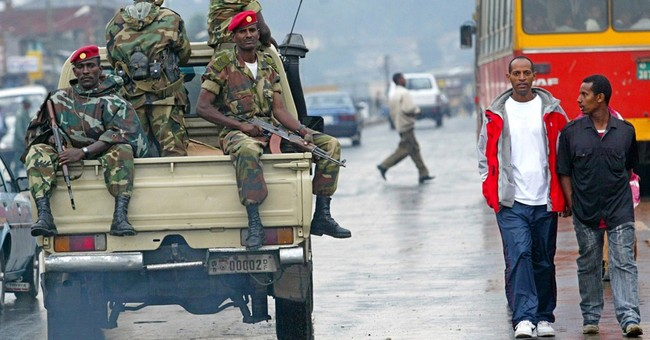 Several dozen shot dead in weekend protests across Ethiopia