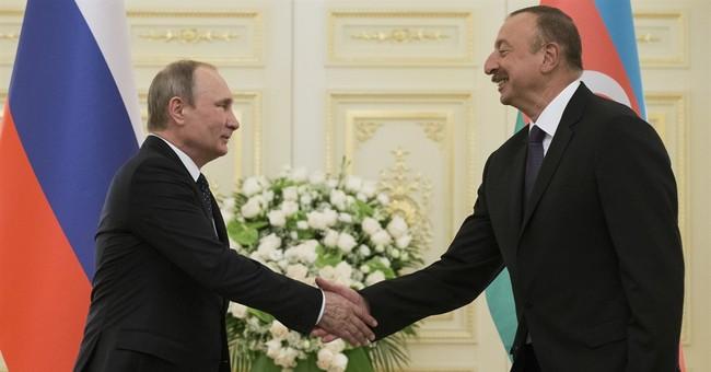 Leaders of Russia, Iran, Azerbaijan discuss closer ties