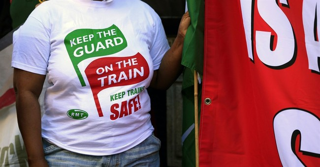 5-day rail strike means misery for many London commuters