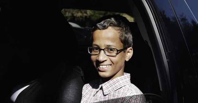 Family of Muslim teen arrested for homemade clock files suit