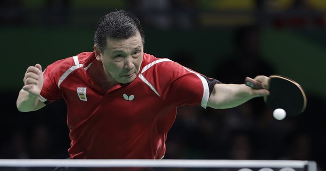 Only masters of spin win at Olympic-level table tennis