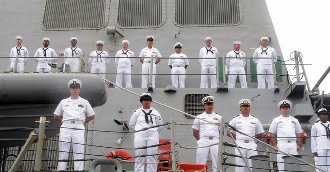 US Navy ship makes 1st China visit since arbitration ruling