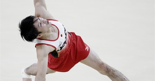 Japan, Uchimura deliver Olympic gold in men's gymnastics