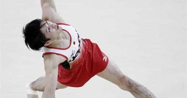 Japan, Uchimura deliver Olympic gold in men's gymnastics