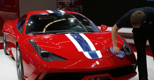 Uh-oh: Driver backs into $290,000 Ferrari while parking