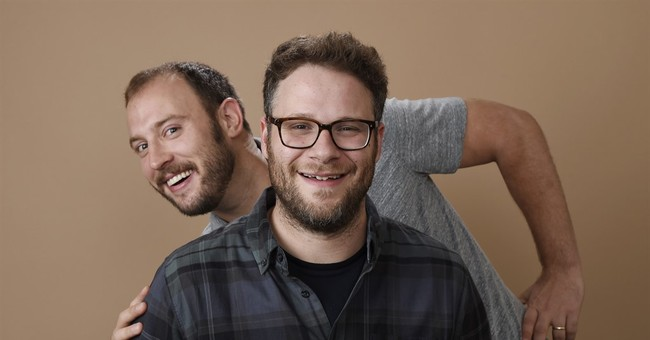 Undaunted by hack, Rogen & Goldberg throw a 'Sausage Party'