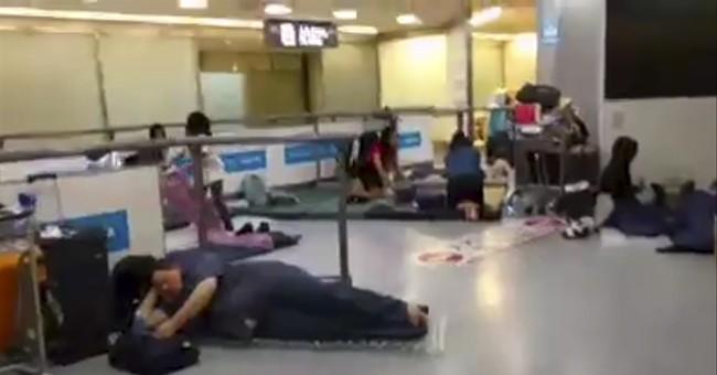 A Delta passenger's long night at Japan's Narita airport