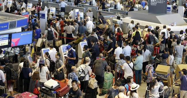 Delta shutdown strands 1,000-plus at Narita airport in Japan