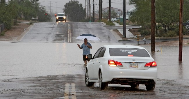 Another day of heavy rains in US after Tropical Storm Javier
