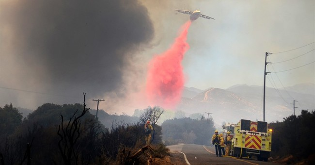 The Latest: Southern California forest fire grows