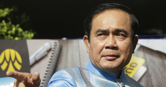 Thailand's junta leader says elections in November 2017
