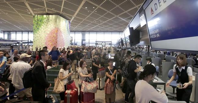 Delta shutdown strands 1,000-plus at Narita airport in Japan