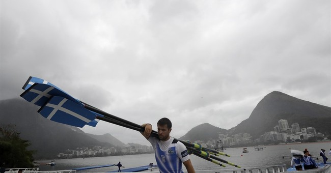 Rowing canceled as skies darken over Rio Olympics