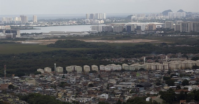Olympics feel far for those in the infamous City of God slum
