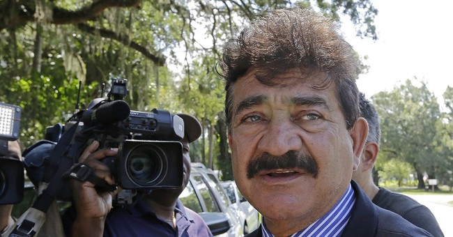 Father of Orlando shooter sighted at Hillary Clinton event
