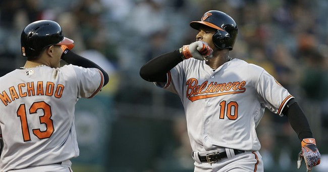 Smolinski, Neal help A's win second straight over Orioles