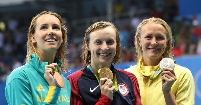 Ledecky wins most challenging event with gritty performance