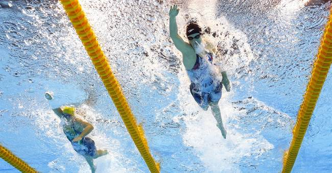 Phelps and Lochte duke it out at Olympics for the last time