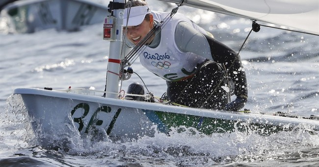 Star Belgian sailor takes sick after racing on polluted bay