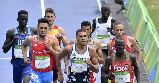 Olympics open up new world for refugee runner