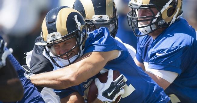 Rams play homecoming game in preseason opener with Cowboys