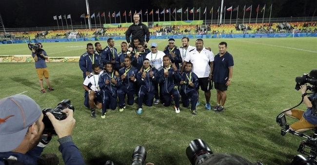 Fiji rugby coach Ryan ponders walking away on Rio gold high