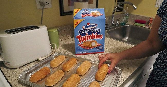 "A look at Hostess' new ""Deep Fried Twinkies"""
