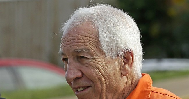 Sandusky emphatically denies he's guilty of abusing boys