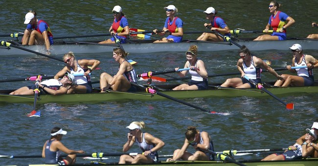 Coxswain's rallying cry spurs US women's eight to more gold