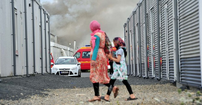 Fire breaks out at asylum-seeker facility in Germany