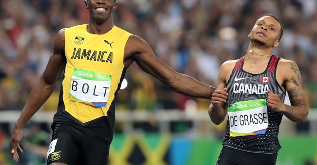 Usain Bolt still the fastest man in the world